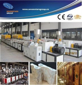 PVC Imitation Marble Production Line / Making Machine / Extrusion Line pictures & photos