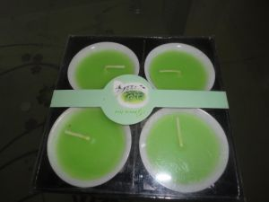 4 Scented Votive Candle Set