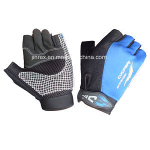 Gym Half Finger Cycling Padding Bicycle Bike Sports Glove pictures & photos