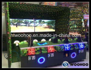 Indoor Playground The Hunter Alliance (Four Player) Shooting Game Machine