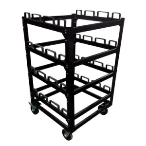 Stcart12 Crowd Control Stanchion Storage Cart pictures & photos