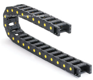 25*38mm Industrial Plastic Towline Cable Chain