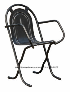 Replica Industrial Metal Dining Restaurant Coffee Armchair Stak-a-by Chair pictures & photos