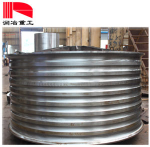 Cable Machinery Processing Welding Part Draught Wheel
