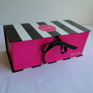 Various Design Gift Box with Printed Ribbon pictures & photos