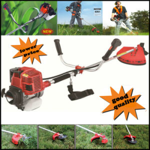 CE Approved, Heavy Duty Petrol Strimmer Grass Trimmer, Brush Cutter, 3 Tooth Blades Petrol Lawnmower