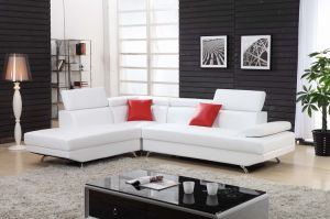 Promotion Modern Living Room Genuine Leather Sofa Set pictures & photos