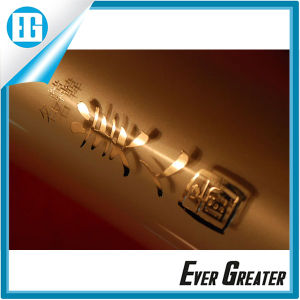 Waterproof Vinyl Metallic Luster Text Gift Packaging Sticker pictures & photos