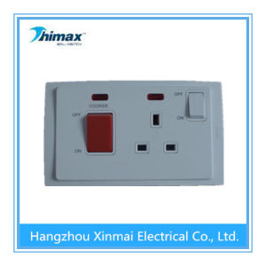 13A Light Wall Control Switched Socket with Neon and 45A Switch with Neon pictures & photos