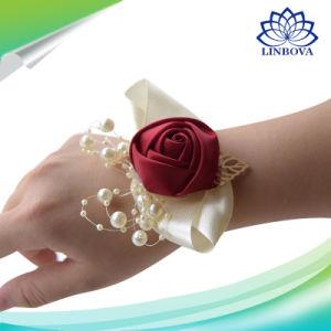 China Kyunovia Wedding Prom Corsage Bridal Wrist Flower Ceremony