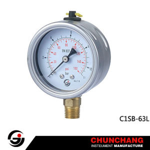 Bayonet All Stainless Steel Pressure Gauge