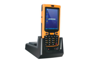 3.5 Inch Wireless Resistive Touchscreen 1d 2D Reading Barcode Terminal pictures & photos