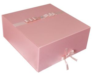Cardboard Packing Box with Ribbon (colorful)