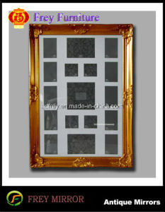 Antique Design Wooden Wall Mirror/Picture Frame pictures & photos
