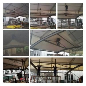 India Car Parking Tent with High Peak Hat Shape pictures & photos