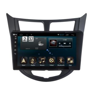 New Ui Android 6.0 Car Navigation for Hyundai Verna 10 with Car Player