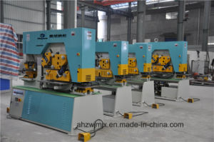 Q35y-40 Hydraulic Combined Punching and Shearing Machine
