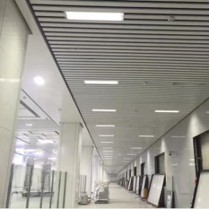 Attractive Decorative Linear U-Shaped Roll Formed Baffle Ceiling with Metal Material pictures & photos