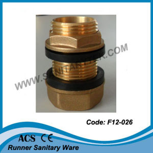 Brass Flanged Connector for Reservoir (F12-011) pictures & photos