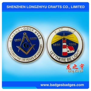 Custom Challenge Metal Coin with 4-6 Colors pictures & photos