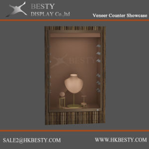 Jewelry Small Wall Cabinet Showcase with Displays