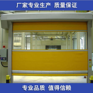 PVC High Speed Roll Door for Workshop pictures & photos