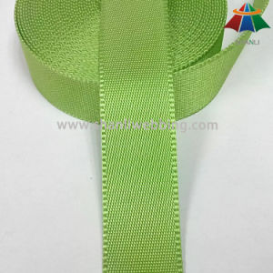 32mm Lime Green Nylon Webbing