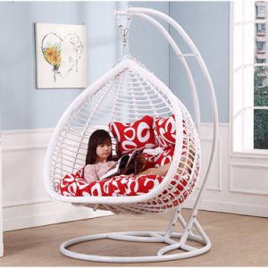 Double Swing Rattan Furniture, Rattan Basket (D152E) pictures & photos