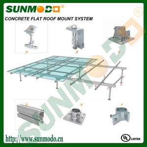 Concrete Flat Roof Solar Mounting System