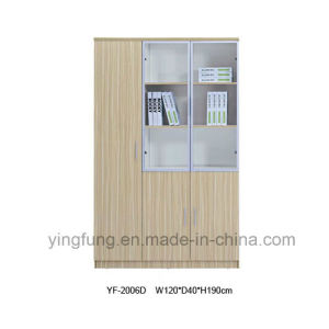 Wooden File Cabinet Used for Office (YF-2006D)