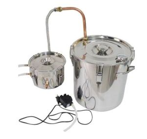 30L Stainless Steel Moonshine Alcohol Distill Machine with Water Pump