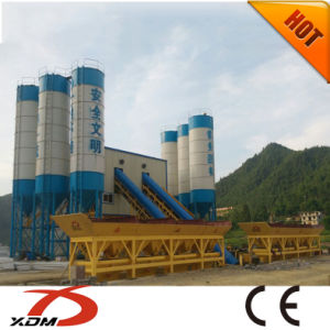 120m3/H Wet Mix Ready Mixed Concrete Batching Plant with Sicoma Mxer
