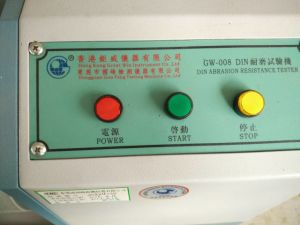 ASTM DIN Abrasion Testing Machine (GW-008) pictures & photos