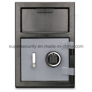 B-Rated Solid Steel Electronic Lock Depository Safe Box Safety Box Flh201414 pictures & photos