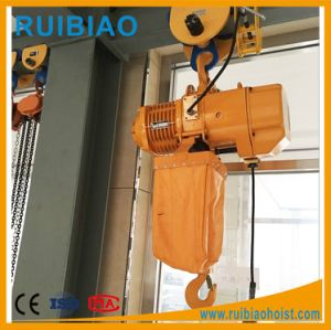 250kg to 5ton Electric Chain Hoist with Electric Trolley pictures & photos