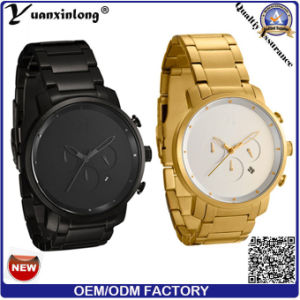 Yxl-174 Promotion New Design Men′s Watch Stainless Steel Wristband High Quality Chronograph Calendar Date Clock Wristwatch Fashion Businessman Watch Men pictures & photos