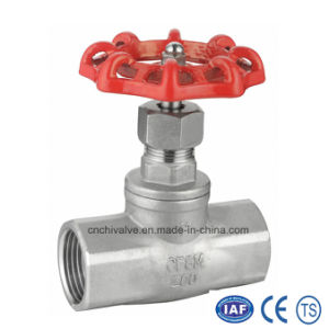 Stainless Steel Female Thread Globe Valve pictures & photos
