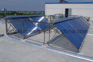 Project Central Heating Heatpipe High Pressure Solar Collector pictures & photos