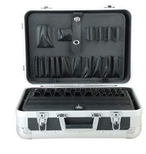 Ningbo Design Aluminum Tool Box with Wheels pictures & photos