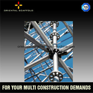 High Quality Ringlock Scaffolding for Working Platform or Support System pictures & photos