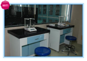 Lab Balance Table With 50mm Thick Marble Worktop
