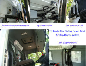 24VDC Truck Air Conditioner System (DL-2409A) pictures & photos