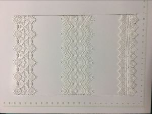 White Color Polyester Lace for Dress pictures & photos