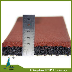 20mm Thickness Rubber Floor Tile for Park Ground