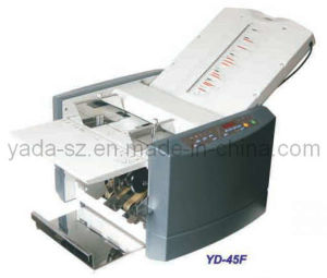 Auto Feeding Office Paper Folding Machine (YD-45F) pictures & photos