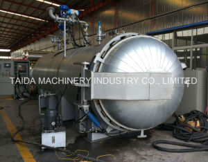 Hydraulic Door System Rubber Vulcanization Vulcanizing Electric Steam Autoclave & China Hydraulic Door System Rubber Vulcanization Vulcanizing ...