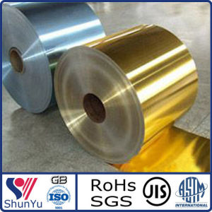 1100, 8011 Aluminium Air-Conditioner Foil with Blue and Golden Coating