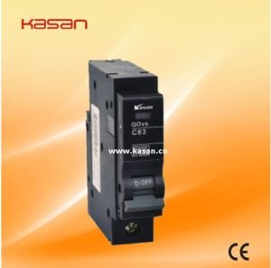 Good Reliability of Sensitive Action 1p Kqovs-63 MCB pictures & photos