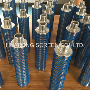 Stainless Steel 316L Candle Filter Roundness Slotted Tube Filter for Beer Industry pictures & photos