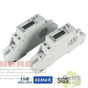 Dds Single Phase DIN Rail Watt-Hour Meter with CE
